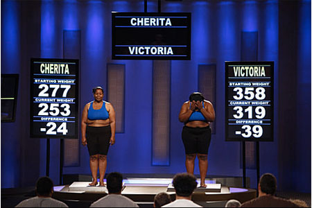 Vicky and Cherita Return to Biggest Loser