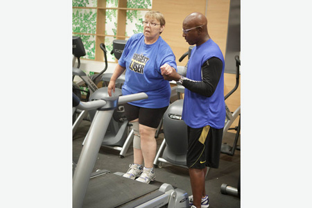 Working Out with Eric Dickerson