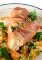 Baked Chicken And Prosciutto Photo