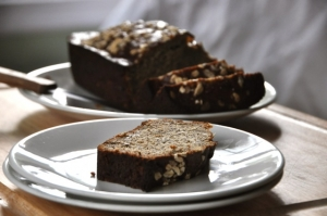 Healthier Flaxseed Banana Bread Photo