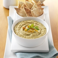 Tunisian Spiced California Raisin Hummus Photo