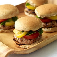 Italian Turkey Burgers Photo