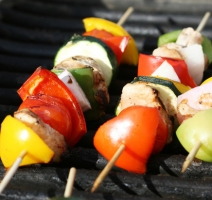 Caribbean Chicken Kabobs Photo
