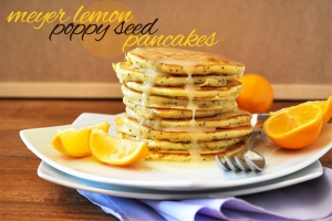 Meyer Lemon Poppy Seed Pancakes Photo