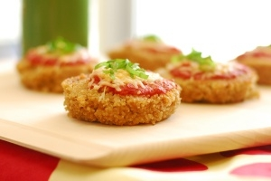 Mini Quinoa Pizzas Photo