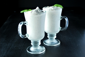 Homemade Shamrock Shake Photo