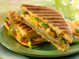 Island Pineapple Chicken Panini Photo