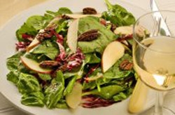 Blue Cheese and Pear Salad Photo