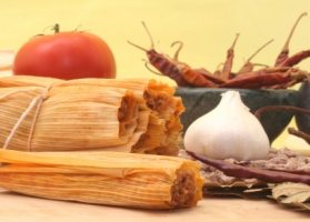 Chicken and Red Chili Tamales Photo