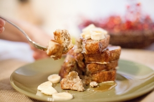 Banana Bread French Toast Photo