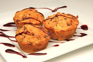 Banana and Oat Muffins Photo