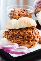 Barbecue Pork Sandwich Photo