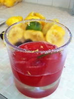 Blackberry Lemonade with Basil Photo