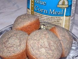 Blue Corn Bread Photo