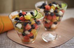 Blueberry Jicama Salad Photo