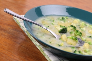 Broccoli-Potato Soup Photo