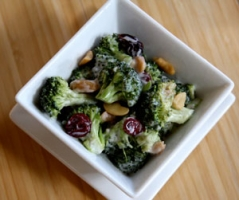 Fresh Broccoli Salad Photo