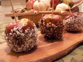 Caramel Apples Photo