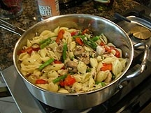 Chicken Macaroni Pot Photo