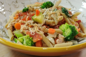Chicken Pasta Bowl Photo