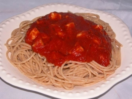Chicken Spaghetti Photo