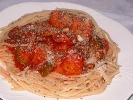 Chunky Spaghetti Photo