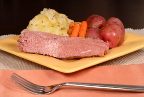 Crockpot Corned Beef and Cabbage Photo