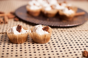 Crustless Pumpkin Pie Mini Muffins