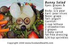 Easter Bunny Salad Photo