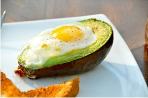 Egg in an Avocado Photo