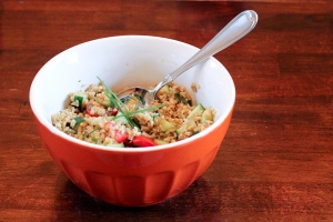 Tabbouleh-Inspired Freekeh Salad Photo