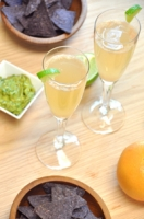 Grapefruit and Lime Mimosa Photo