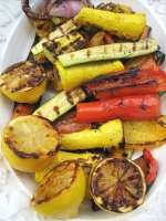 Grilled Balsamic Vegetables Photo