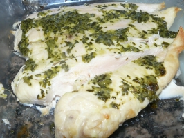 Lemon Baked Trout Photo