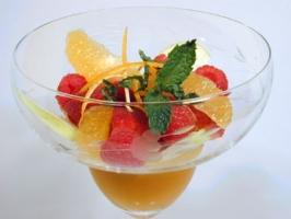 Lemon Glazed Fruit Cup Photo