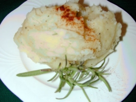 Mashed Potatoes with Leeks Photo