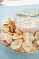 Microwave Baked Potato Chips Photo