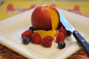Peach Berry Crush Photo