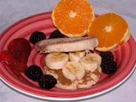 Peanut Banana Finger Sandwiches Photo