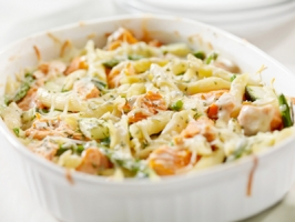 Penne Chicken Casserole Photo