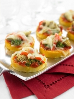 Pesto Pizzettas Photo