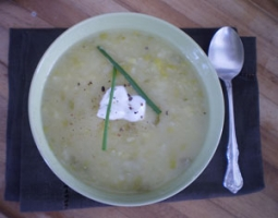 Potato Leek Soup  Photo