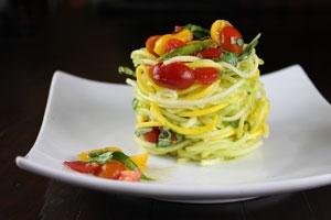 Raw Pasta alla Checca Photo