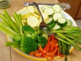 Raw Veggie Platter Photo