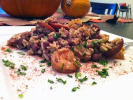 Red Beans and Rice with Shrimp Photo