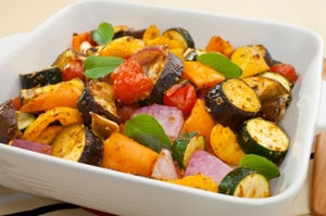 Aromatic Roasted Vegetables Photo