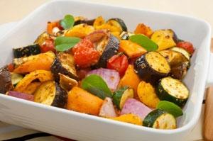 Aromatic Roasted Vegetables Photo