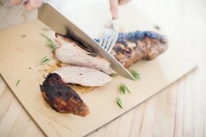 Rosemary Balsamic Grilled Pork Tenderloin Photo