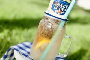Frozen Lemonade Sam Adams Summertime Slush Photo