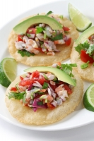 Shrimp, Avocado, and Cilantro Ceviche Photo